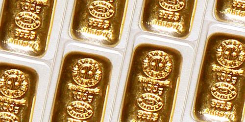 zlatý slitek 100g